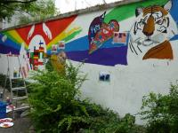 Wandbild Katholische Jugendfürsorge 3