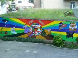 Wandbild KJF